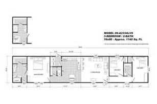 clayton single wide mobile homes floor plans clayton mobile home plan 171 mobile homes