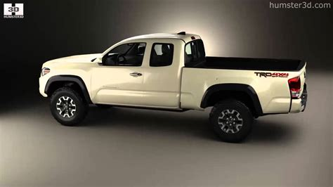 toyota tacoma long bed toyota tacoma access cab long bed trd off road 2014 by 3d