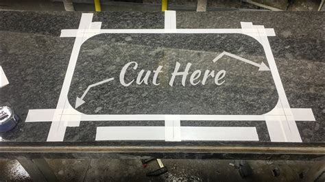 Cutting Granite For Undermount Sink by How To Cut Undermount Sink In Granite By
