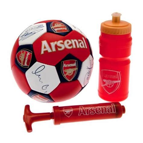 arsenal gift shop arsenal fc football gift set arsenal fc merchandise