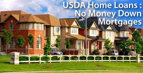 usda home loans 100 financing low mortgage rates