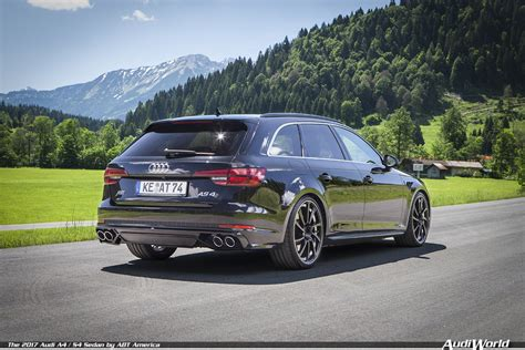 Audi A4 Abt Tuning by The 2017 Audi A4 S4 Sedan By Abt America Audiworld