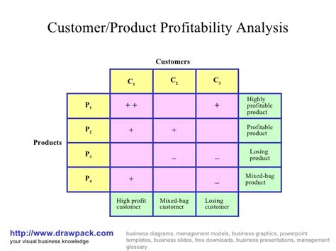 Profitability Analysis Business Diagram Customer Profitability Analysis Template
