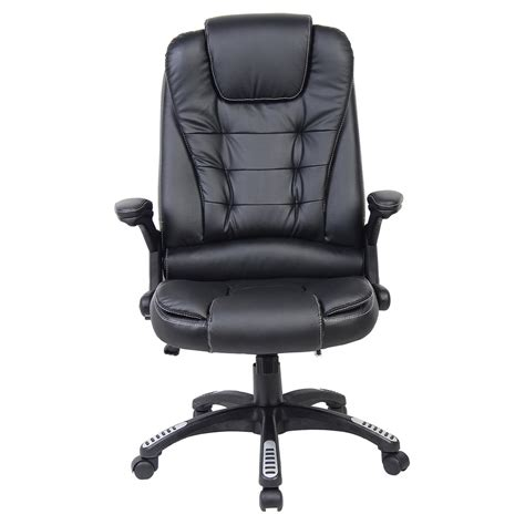 reclining office chair uk rio luxury reclining executive office desk chair faux