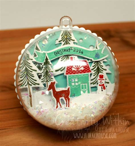 hallmark extra large snow globes creativity within creativity by mail september projects peeks