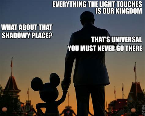 Universal Memes - disney vs universal california edition the 2econd star