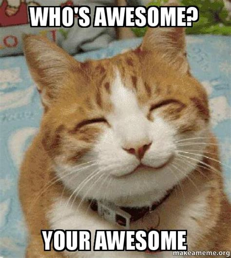 Your Awesome Meme - who s awesome your awesome make a meme