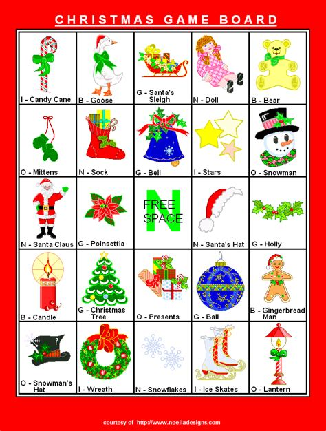 printable christmas bingo cards 6 best images of free printable christmas bingo game