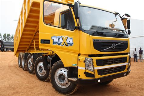 volvo dump truck volvo fm480 10x4 dump truck launched in india