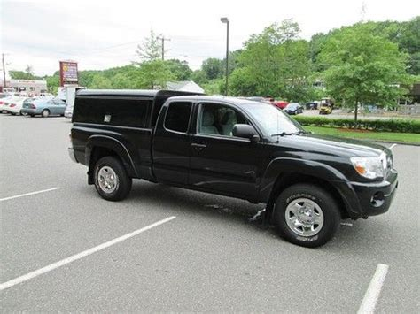 2010 Toyota Tacoma Mpg 4wd Buy Used 2010 Toyota Tacoma S C 4wd Pu W Utility Cap Bed