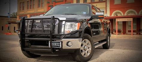 texas jeep grill ranch hand legend grille guard on a ford f150 in ranch