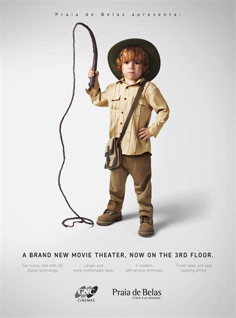 creative advertising cute kids  adult  characters