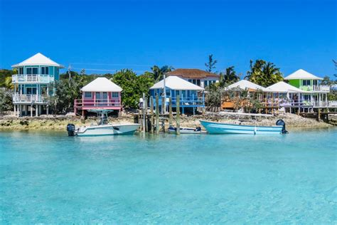 staniel cay yacht club cottages swimming with the exuma pigs an adventure at