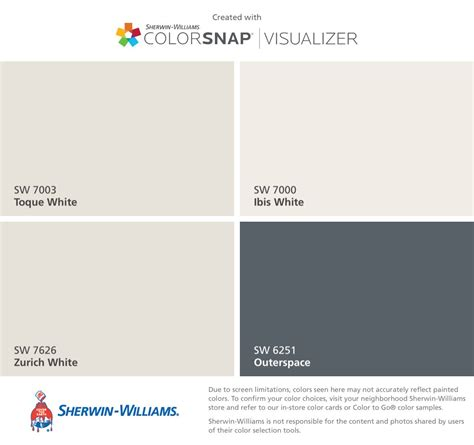 sherwin williams white i found these colors with colorsnap 174 visualizer for iphone