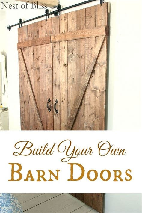 Barn Door Tutorial Sliding Doors Glass Doors And Tutorials On