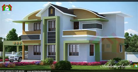 kerala home design 1500 sq feet 1500 square feet kerala house 3d elevation architecture