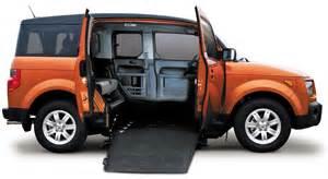 Honda Element Conversion Honda Element Conversion Wheelchair