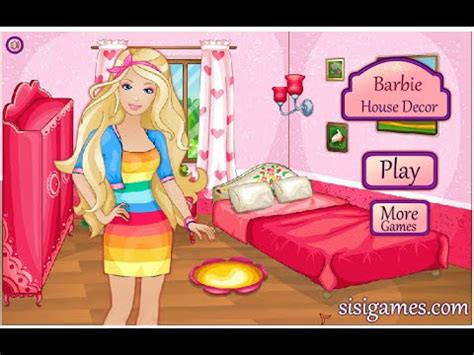 Girl Video Barbie Doll House Games For Girls Youtube