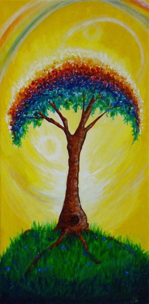 rainbow tree lights rainbow tree of and light by yayjennies on deviantart