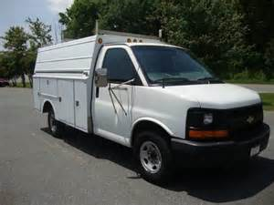 2004 chevrolet express g3500 service utility truck for