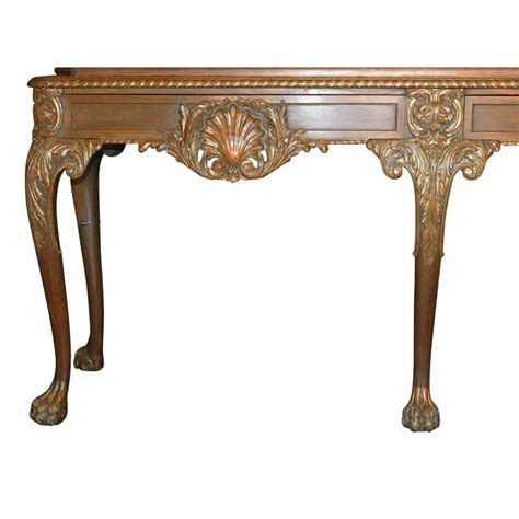 Chippendale Vitrine by 19th 20th Century Chippendale Style Carved