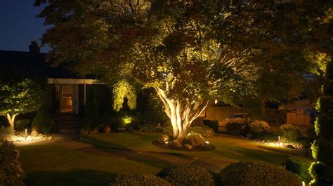 landscape lighting britescape expert landscape lighting in greater seattle