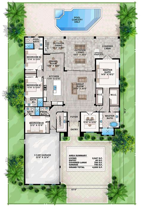 coastal floor plans 25 best ideas about beach house plans on pinterest