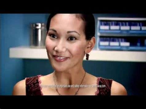 cpa commercial actress q who is the hot girl in the acuvue oasys contact