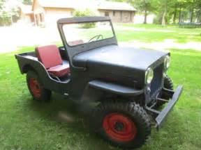 54 Willys Jeep For Sale 1954 Jeep Willys Cj3b Cj 3b Great Shape In Ohio You