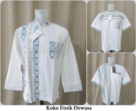 Baju Koko Dewasa Size Jumbo sentra grosir baju koko etnik dewasa ekslusif murah berkualitas 66ribu