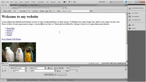tutorial website using dreamweaver download dreamweaver upload pdf website backupcourse
