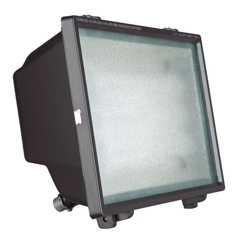 Home Depot Outdoor Flood Lights Sunset 1 Light Rubbed Bronze Outdoor Flood Light F7837 66 The Home Depot