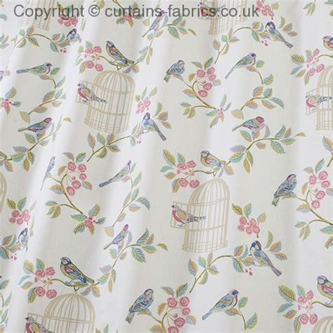 bird curtains uk song bird by iliv swatch box in eau de nil curtain fabric
