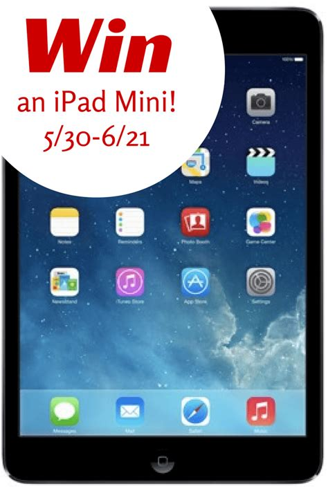 Ipad Mini Sweepstakes - ipad mini giveaway powered by mom