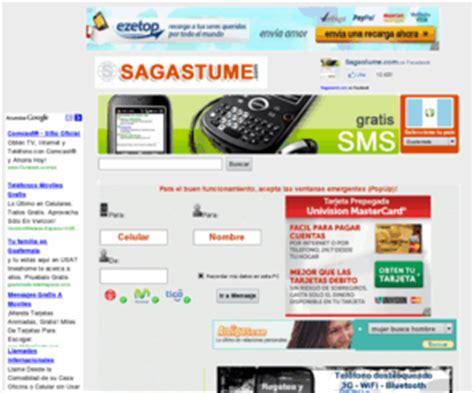 sagastume guatemala mandar mensajes de texto a celulares gratis taringa
