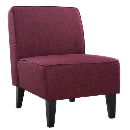 Armless Living Room Chairs by Costway Accent Chair Armless Contemporary Dining Chair