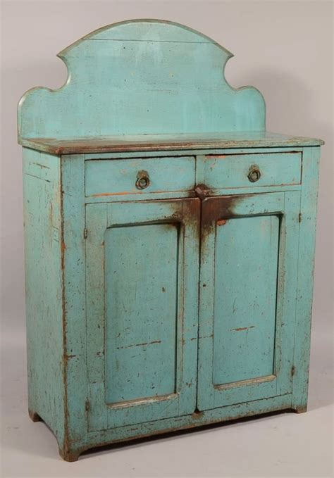 Cabinet Robin by 298 Pennsylvania Late 19th Century Robin Egg Blue On