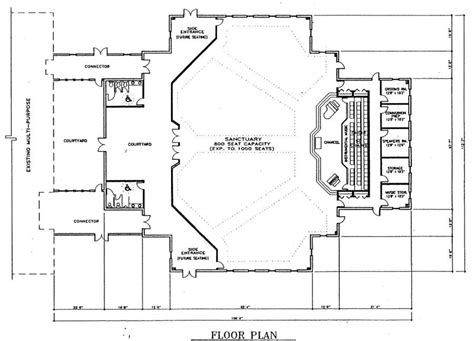 metal church building floor plans church plan 137 lth steel structures