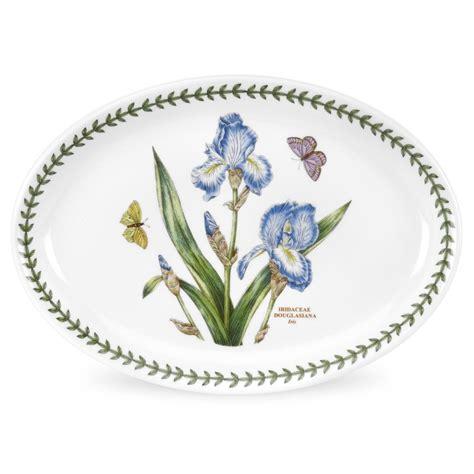 Portmeirion Botanic Garden Portmeirion Botanic Garden Oval Platter 11 Inch Set Of 6 Portmeirion Uk