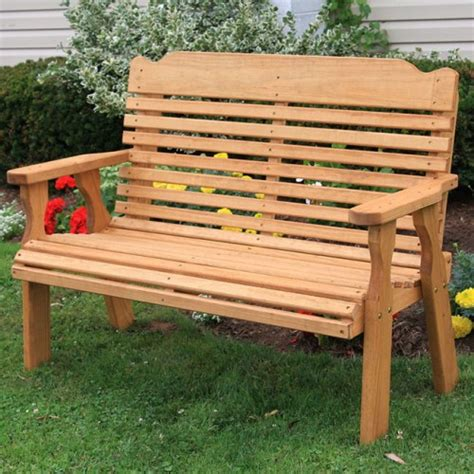 heavy duty outdoor benches centerville amish heavy duty 800 lb classic treated garden