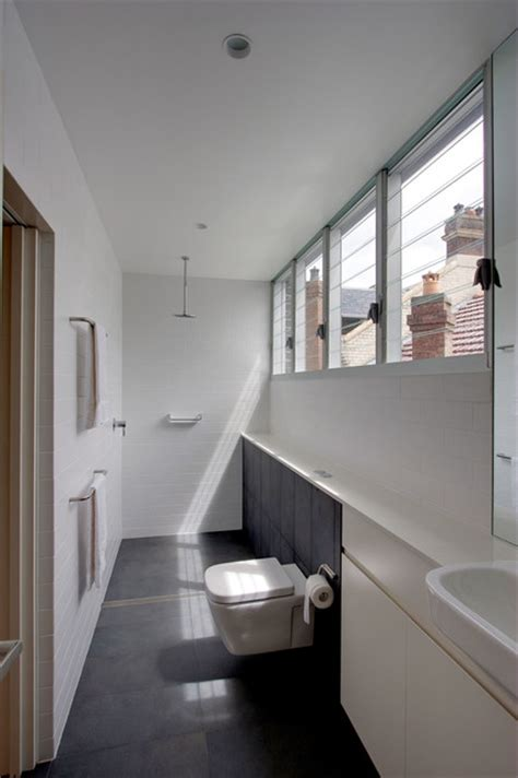 narrow bathroom design 19 narrow bathroom designs that everyone need to see