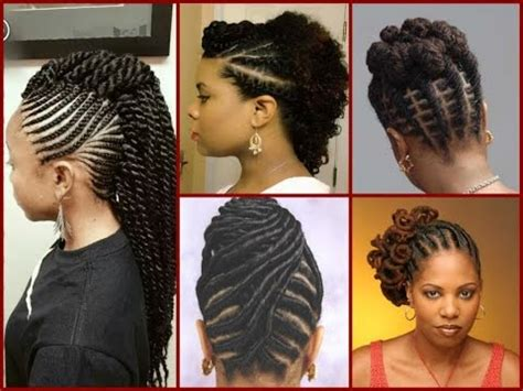 top 20 flat twist hairstyles on natural hair youtube