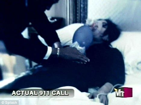 michael jackson death bed chilling re enactment of michael jackson s death broadcast featuring uncanny lookalike