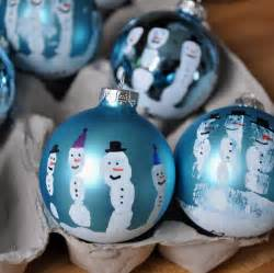 little bit funky make these now handprint snowman