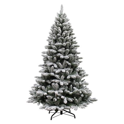 searscom white christmas tree smith 7 flocked colorado pine tree