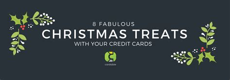 Noel Gifts Credit Card Promotion - 8 fabulous christmas promotion treats with your credit cards