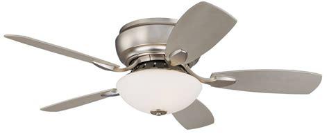 casa elite hugger fan flush mount ceiling fans shop hunter louden 46in brushed