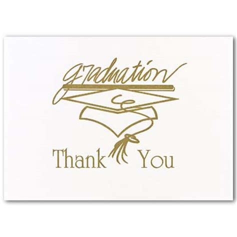 Thank You Card Template Graduation Money by Thank You Graduation Quotes Quotesgram