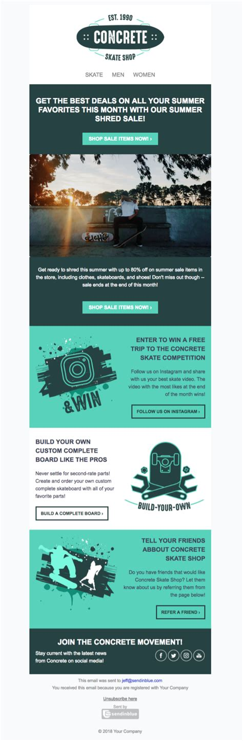 newsletter templates 5 free html newsletter templates to wow your audience