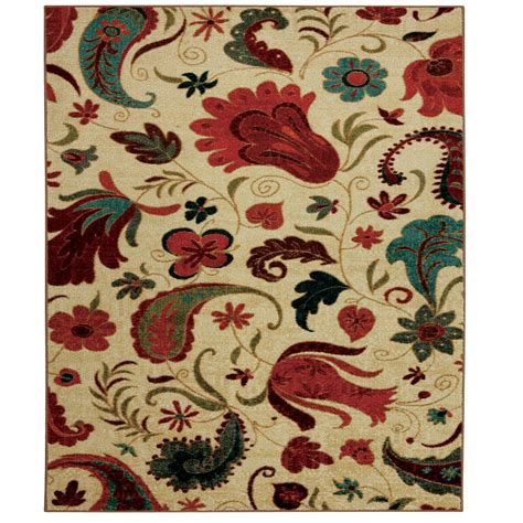 10 X 10 Ft Square Rug - mohawk home tropical acres multi 10 ft x 10 ft square